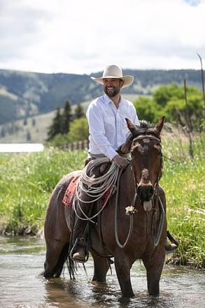 Horse trainer Joel Conner